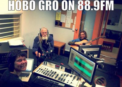 Hobo Gro Radio at Skid Row