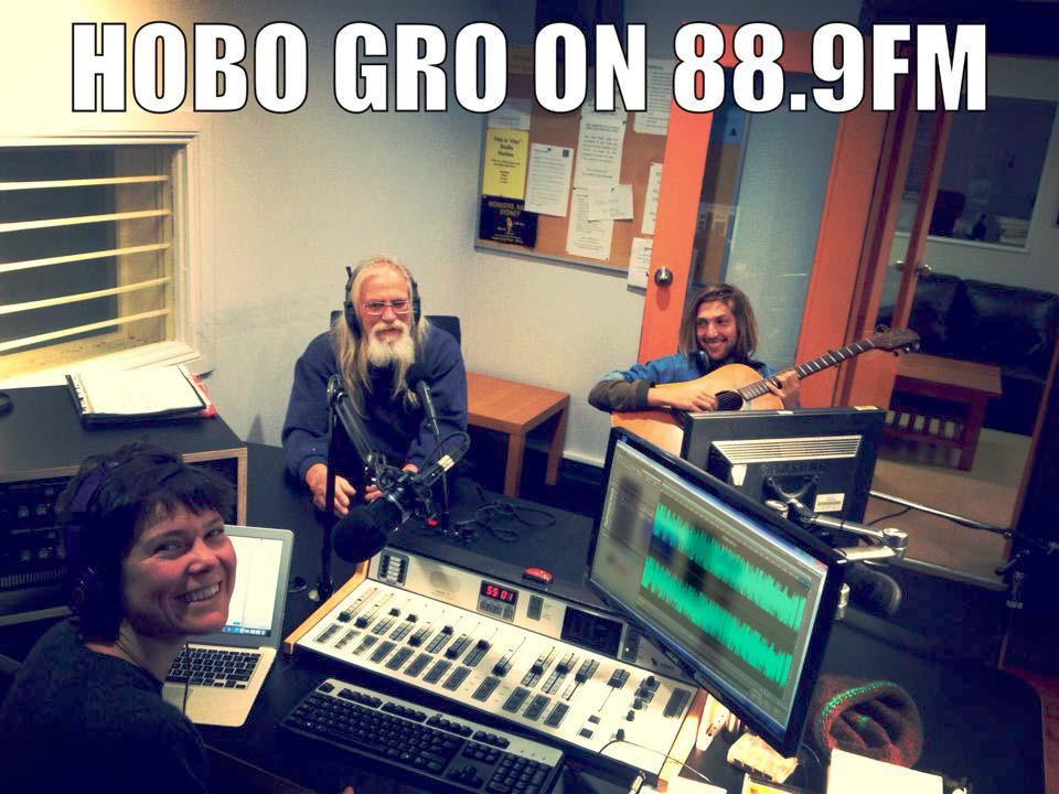 Hobo Gro Radio at Skid Row