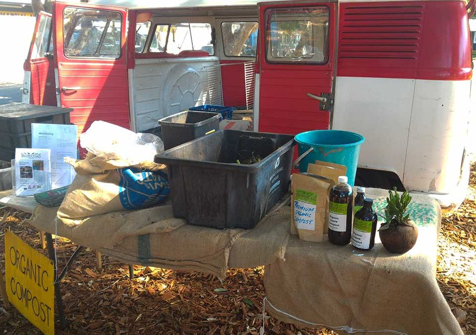 HoboGro's portable stall & Products